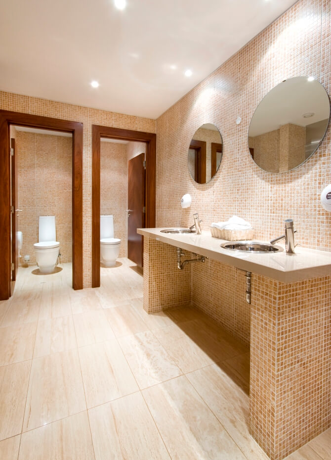 COMMERCIAL BATHROOM REMODELING GLENVIEW